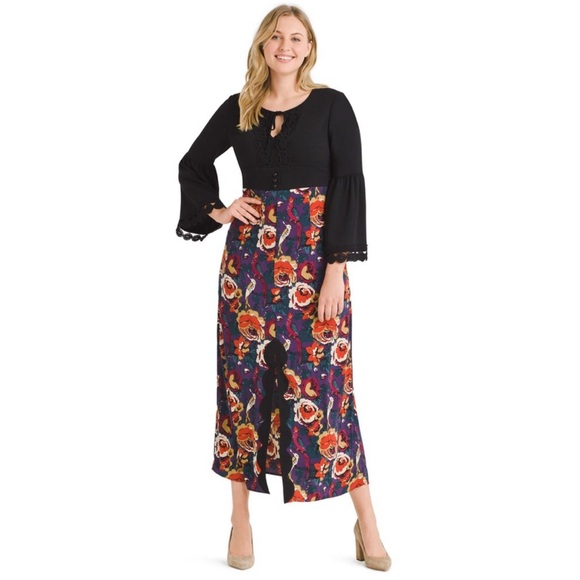 Modcloth Dresses & Skirts - ModCloth Anna Sui Rooted In Retro Maxi Dress